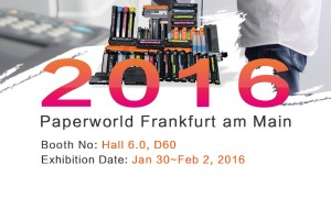 2016 Paperworld Frankfurt am Main