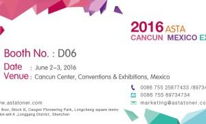 ASTA 2016 Cancun Mexico Expo