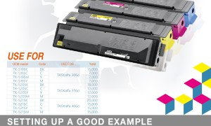 ASTA For Kyocera mita Tk5195 TK5205 TK5215Series Toner cartridge