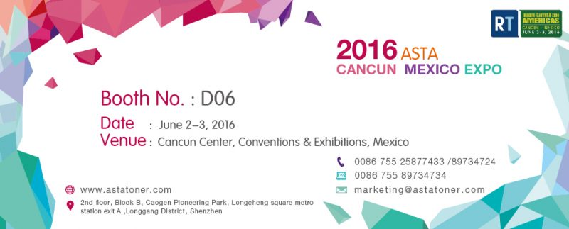 ASTA Cancun Expo invitation