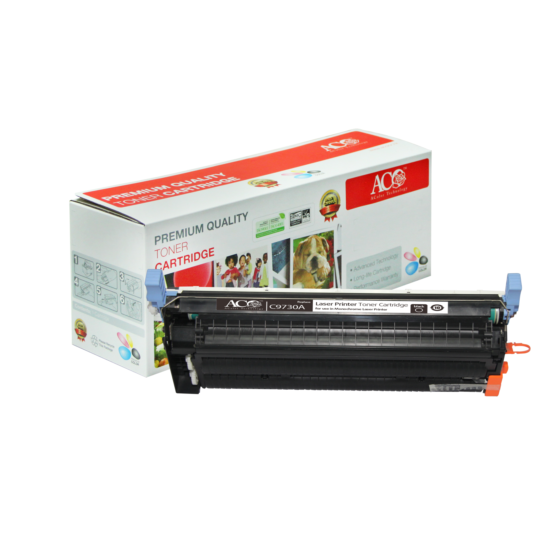Compatible Color Toner Cartridge for HP C9730A C9731A C9732A C9733A(for HP Color LaserJet 5500 5550 series)