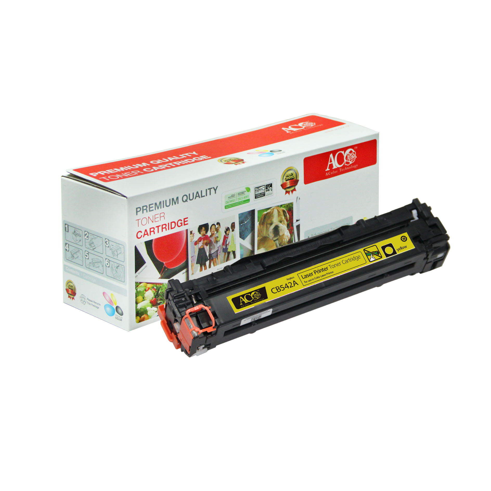 Compatible Color Toner Cartridge for HP CB540A CB541A CB542A CB543A(for HP Color LaserJet CM1300 CM1312 CP1210 CP1215 CP1515n CP1518ni)