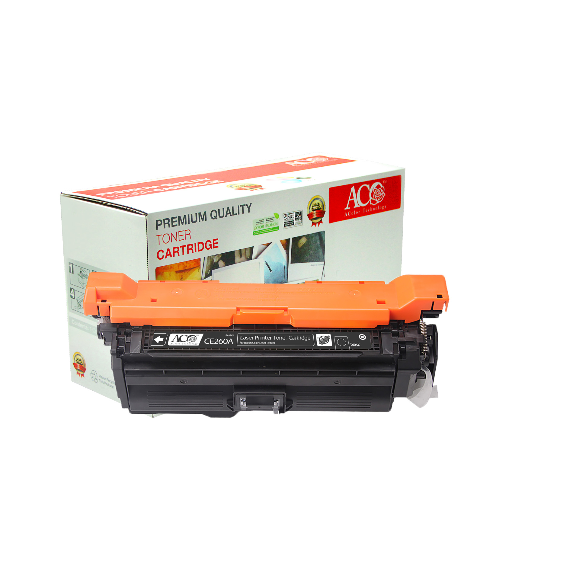 Compatible Color Toner Cartridge for HP CE260A CE261A CE262A CE263A(for HP Color LaserJet CP4020 4025 4520 4525 )