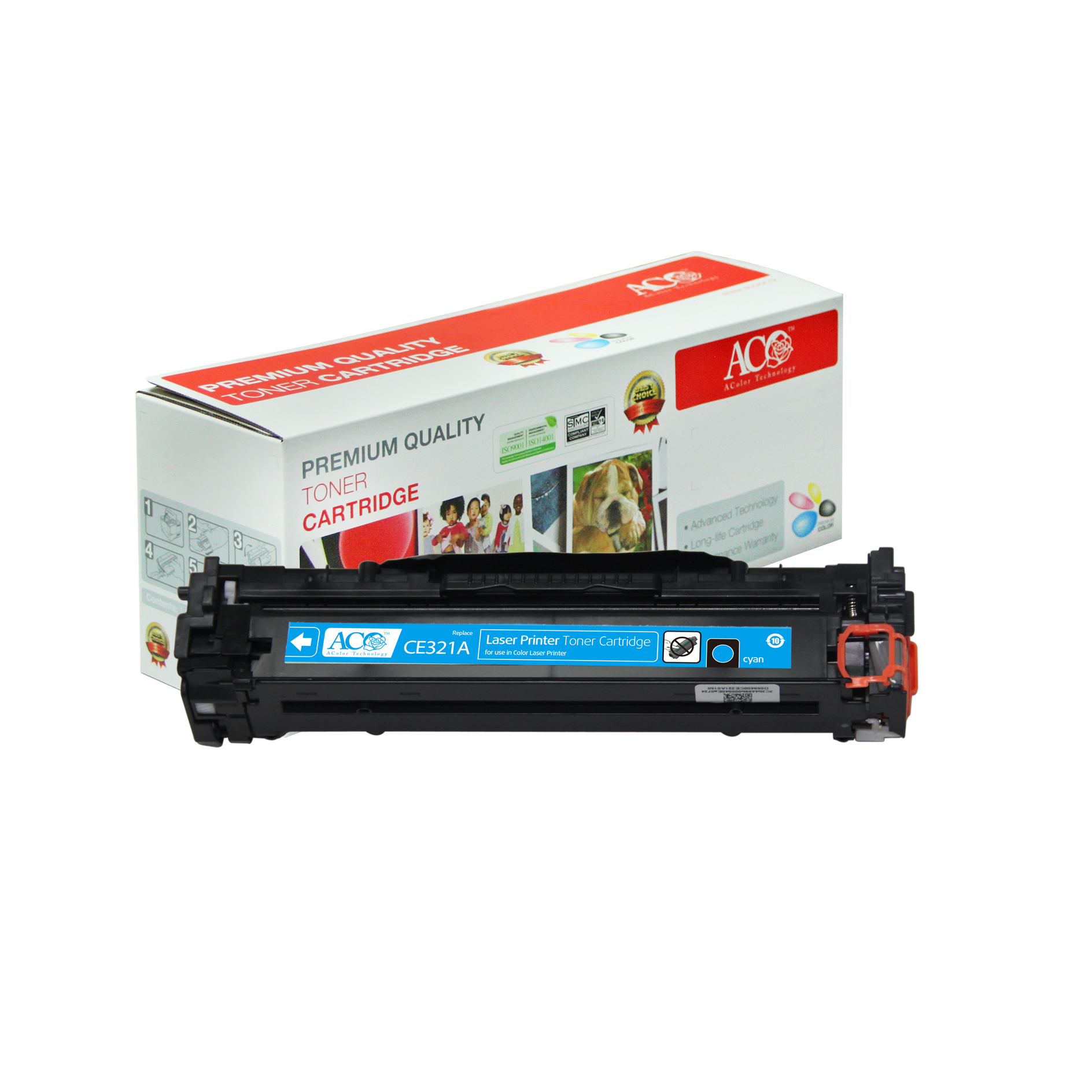 Compatible Color Toner Cartridge for HP CE320A CE321A CE322A CE323A(CP1525n CP1525nw CM1415fnw)