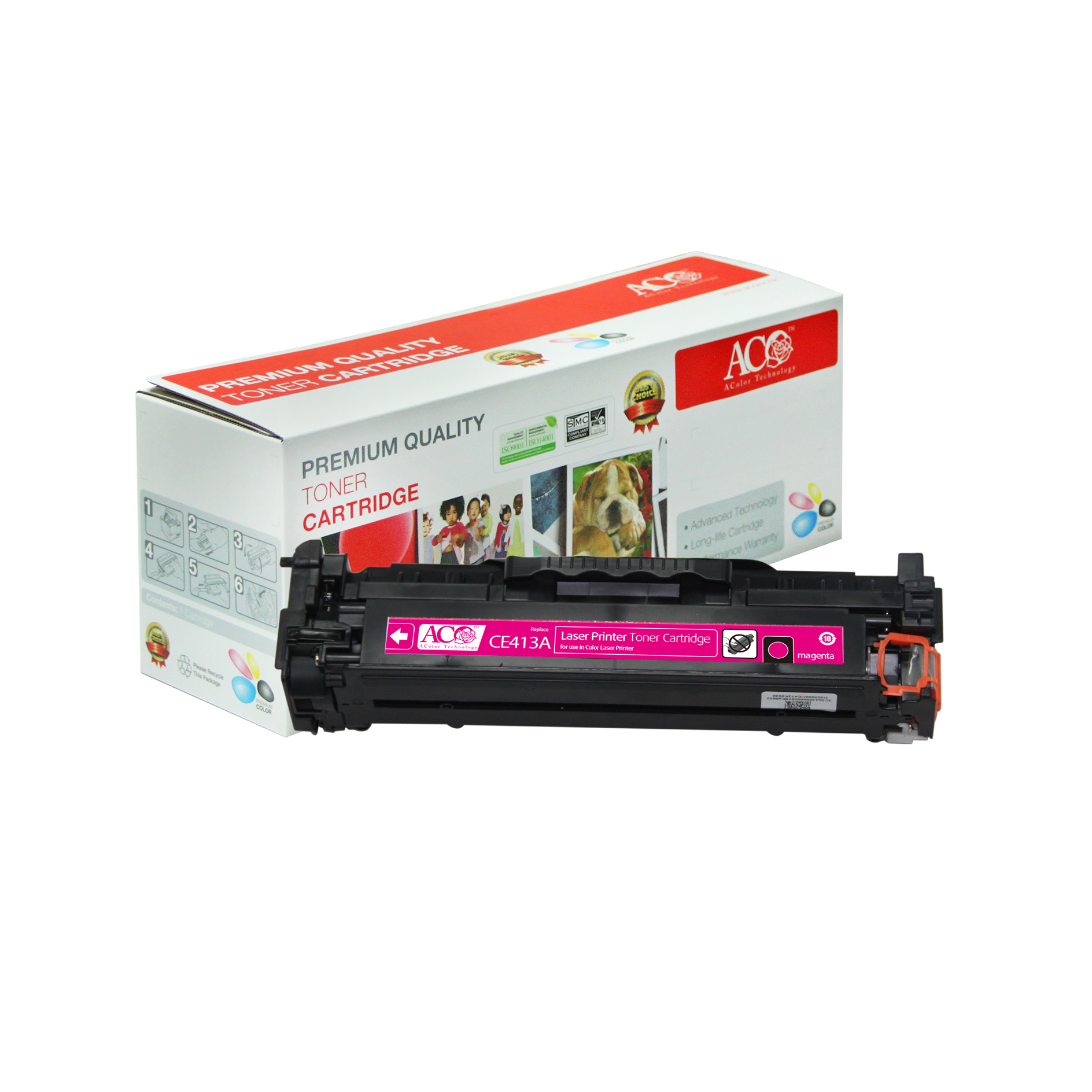 Compatible Color Toner Cartridge for HP CE410A CE411A CE412A CE413A(for HP LaserJet Pro 300 400 color M351 M375nw M451dn M451nw M451dw M475dw M475dn)