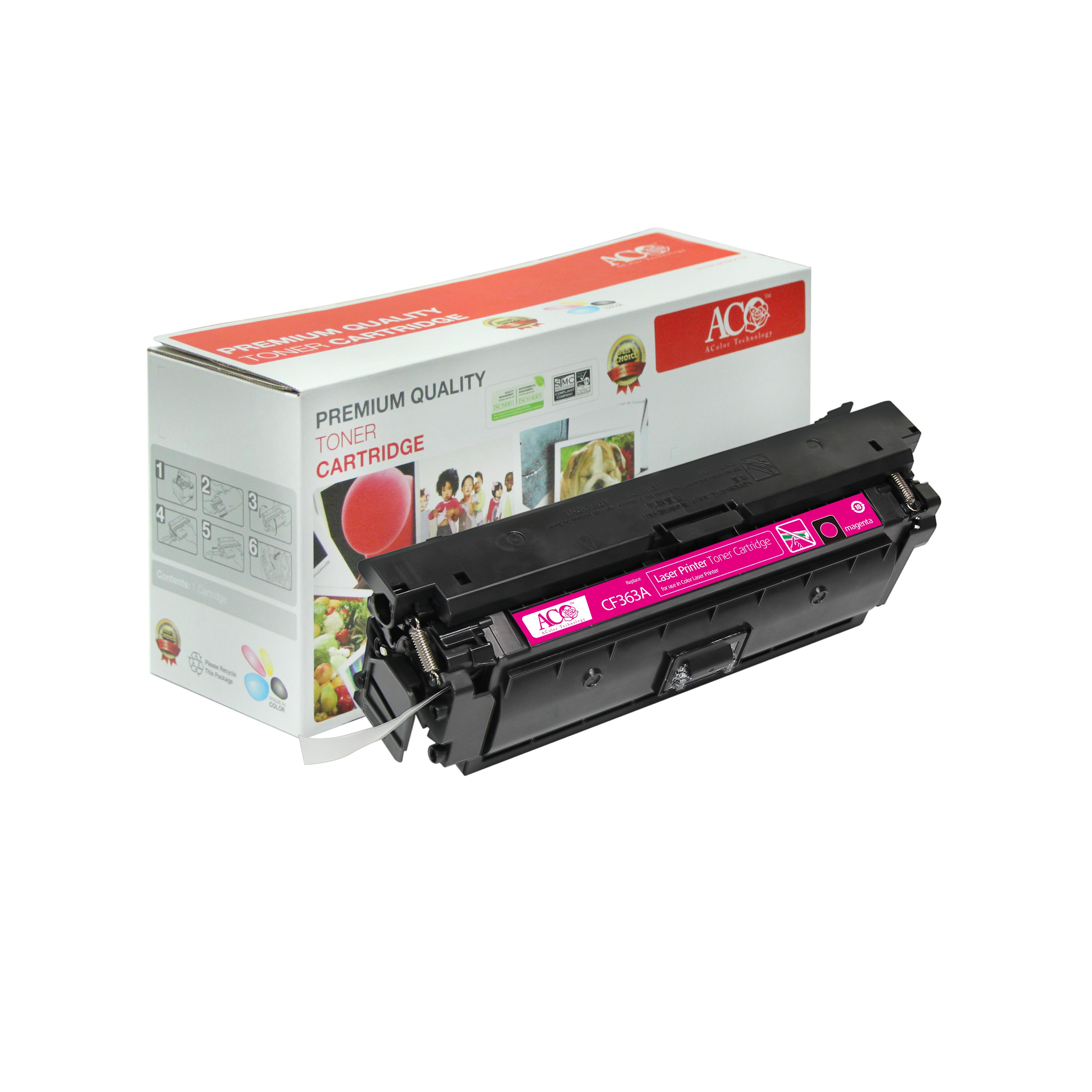 compatible color toner cartridge for hp cf360a cf361a cf362a