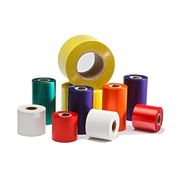 Color Resin Thermal Transfer Ribbon