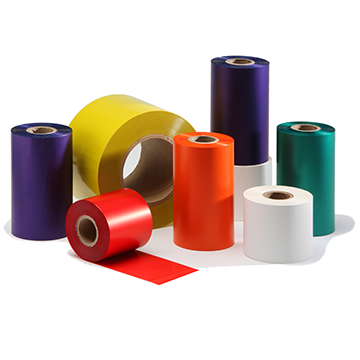 Color Wax Thermal transfer ribbons (Width:6-24mm, Length:300m)